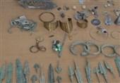 کشف اشیاء عتیقه با قدمت بیش از یکهزار سال در گنبدکاووس