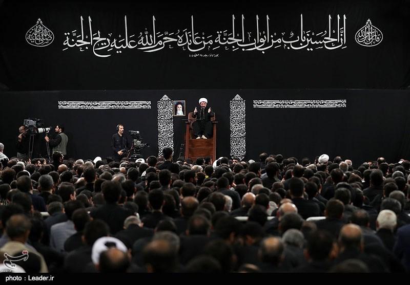 سخنرانی حجتالاسلام عالی در دومین شب عزاداری محرم در حسینیه امام خمینی(ره)