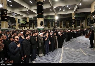 دومین شب عزاداری محرم در حسینیه امام خمینی(ره) با حضور رهبر معظم انقلاب