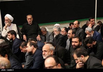 دومین شب عزاداری اباعبدالله الحسین (ع) در حسینیه امام خمینی (ره)