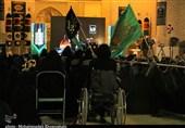 عزاداری دهه اول محرم در مسجد تاریخی امام(ره) کرمان + تصاویر