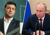 """مذاکرات تلفنی پوتین-زلنسکی در آستانه نشست سران """"گروه نرماندی"""""""