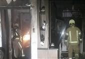 تهران| نجات 20 نفر از میان آتش و دود + تصاویر