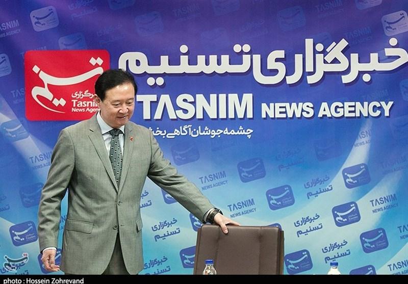 سفیر چین از خبرگزاری تسنیم بازدید کرد