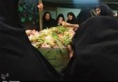 تهران| وداع باشکوه مردم دیار سیدالکریم با پیکر پاک شهید گمنام به روایت تصویر