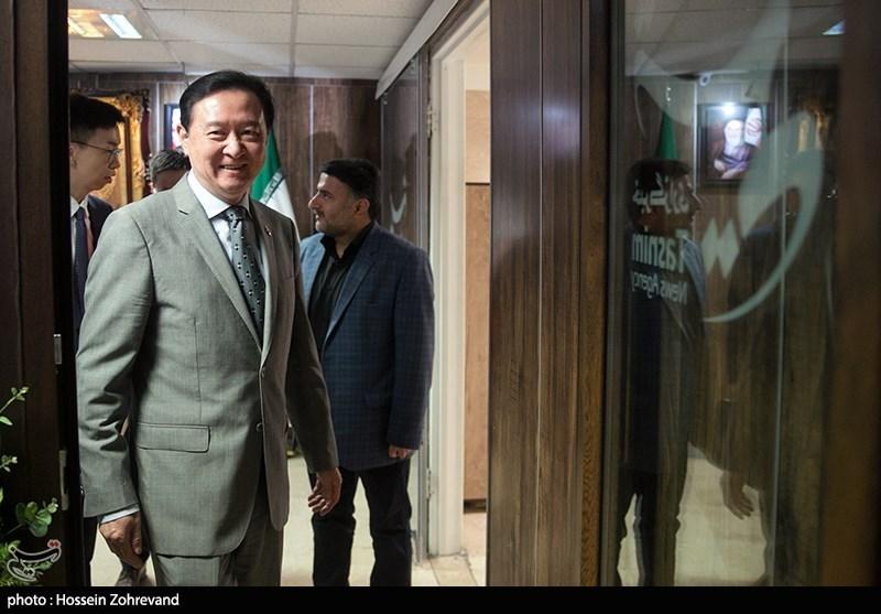 چانگ هوا سفیر جمهوری خلق چین در تهران در خبرگزاری تسنیم