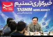 حضور چانگ هوا سفیر جمهوری خلق چین در تهران در خبرگزاری تسنیم