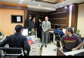 حضور چانگ هوا سفیر جمهوری خلق چین در تحریریه خبرگزاری تسنیم
