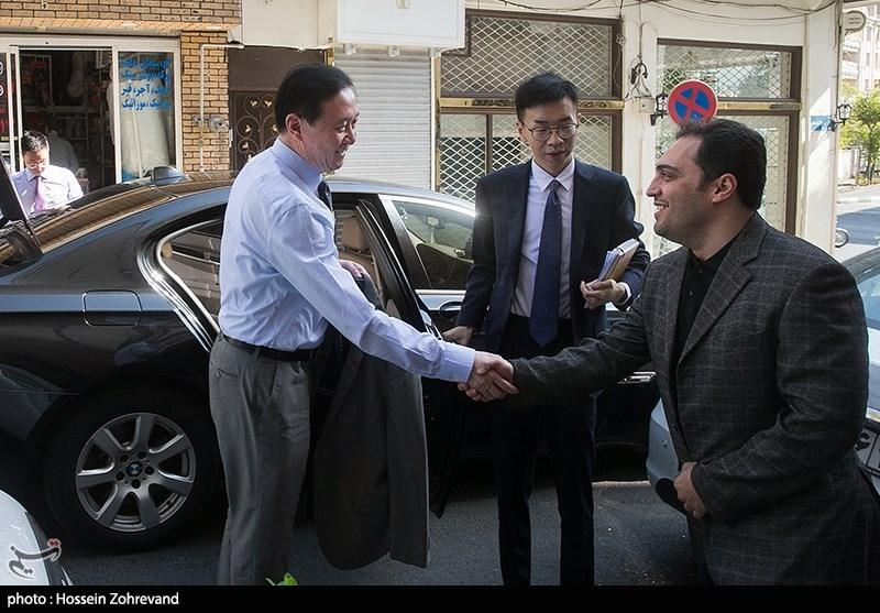 حضور سفیر چین درخبرگزاری تسنیم
