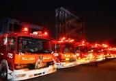 220 آتشسوزی در تهران مربوط به حوادث شب چهارشنبه آخر سال 99