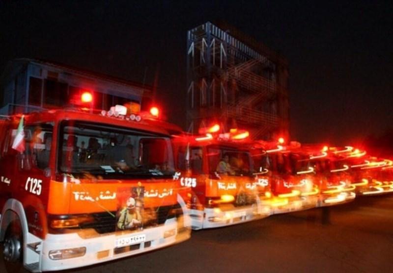 ۲۲۰ آتشسوزی در تهران مربوط به حوادث شب چهارشنبه آخر سال ۹۹
