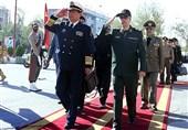 استقبال رسمی رئیس ستاد ارتش چین از سردار باقری