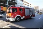 تهران| آتشسوزی در کارگاه تولید کیف و کفش