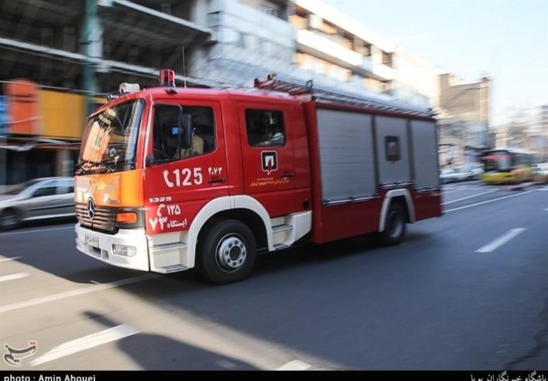 تهران | آتشسوزی یک سینما در بلوار کشاورز