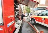 4 مصدوم بر اثر انفجار شدید در منزل قدیمی + فیلم و تصاویر