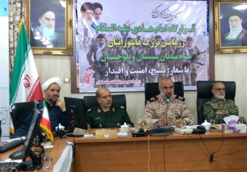 رزمایش بزرگ عاشورائیان سپاه در سیستان و بلوچستان آغاز شد