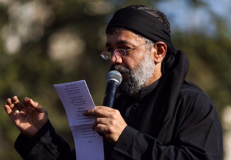 چهارپایهخوانى محمود کریمی در شب تاسوعای 98