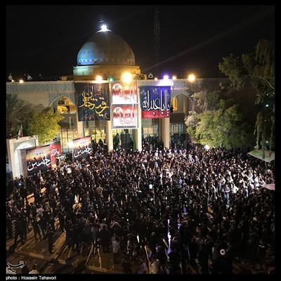 عزاداری حسینی در کیش