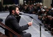 مداحی میثم مطیعی در شب تاسوعا در حسینیه امام خمینی