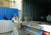 اجرای طرح جمعآوری ضایعات شیشه از ساختمانهای در حال تخریب