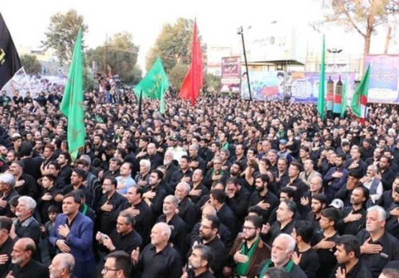 آذربایجان شرقی در تاسوعای حسینی غرق در ماتم و عزا است