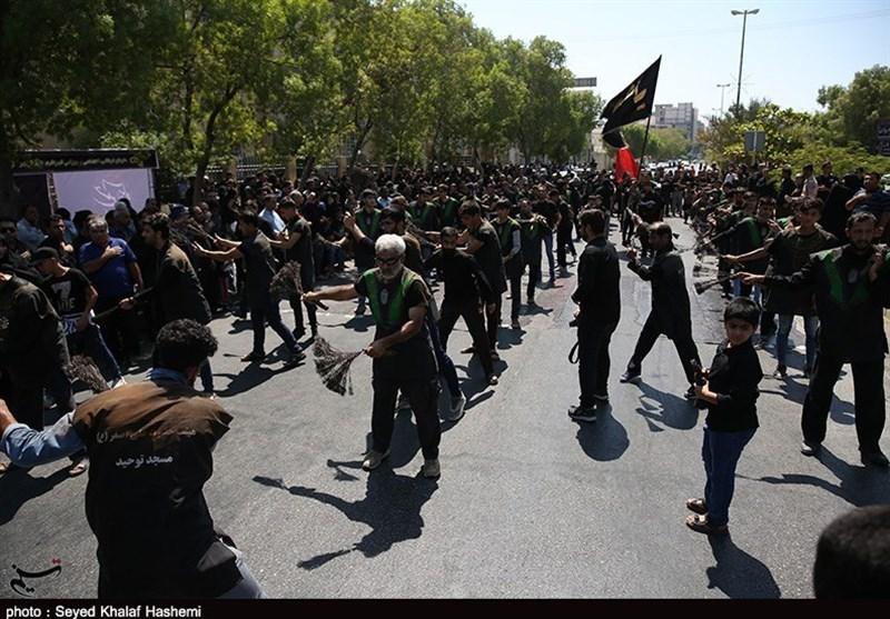 ندای یا ابوالفضل(ع)، یا علمدار کربلا (ع) در بوشهر طنینانداز شد + فیلم