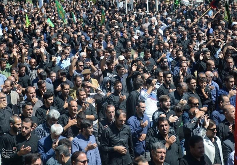 اجتماع عظیم عزاداران حسینی کهگیلویه و بویراحمد در روز تاسوعا +تصاویر
