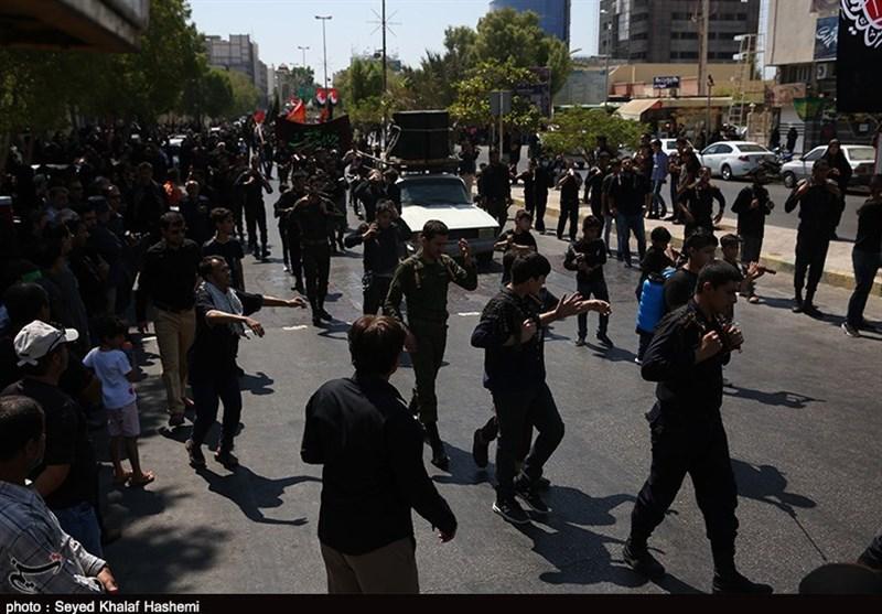 عزاداری تاسوعای حسینی بوشهریها به روایت تصویر