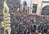 شور و شعور حسینی در پایتخت حسینیت؛ طنیناندازی الدخیل یا اباالفضل(ع) در میدان عالی قاپوی اردبیل + فیلم