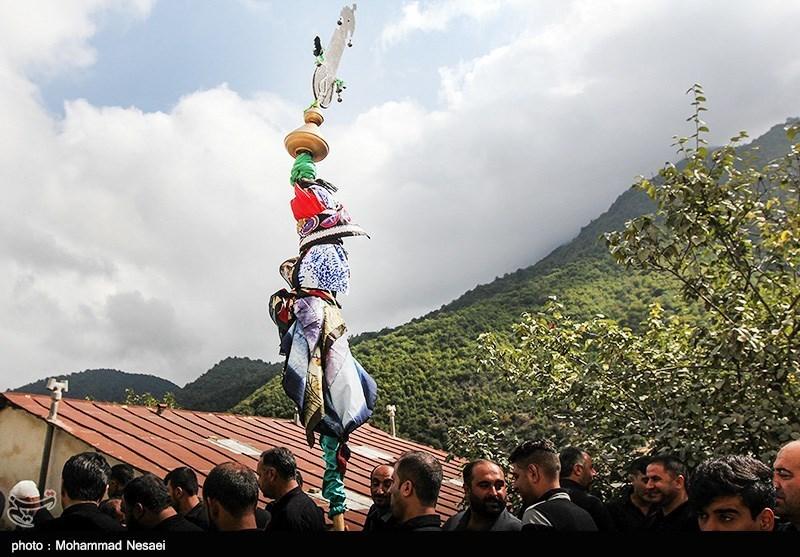 آئین سنتی «علمبندان» در روستاهای استان گلستان به روایت تصویر