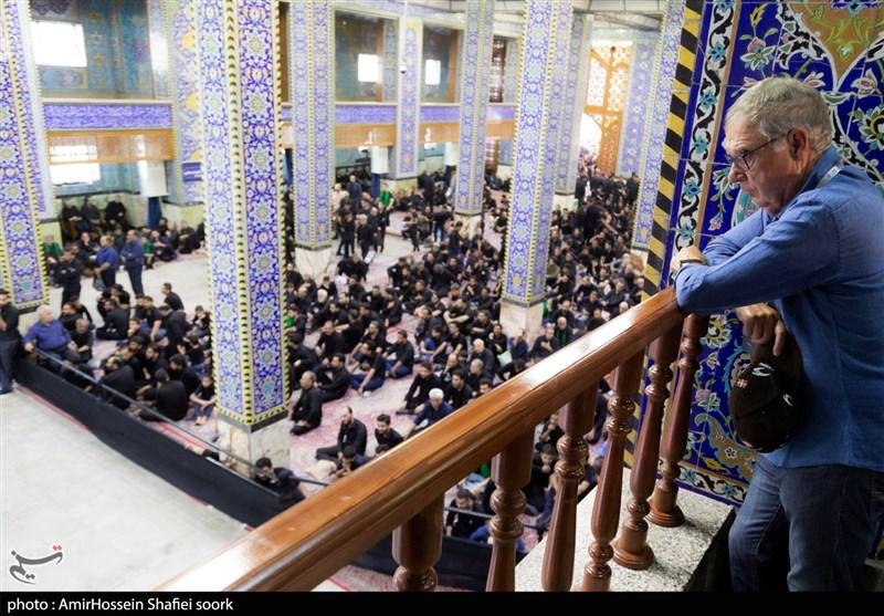 حضور گردشگران خارجی در مراسمهای عزاداری یزد