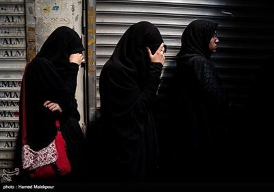 مراسم عزاداری تاسوعای حسینی در بازار تهران
