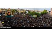 اجتماع عزاداران دارالارشاد اردبیل در روز تاسوعا به روایت تصویر
