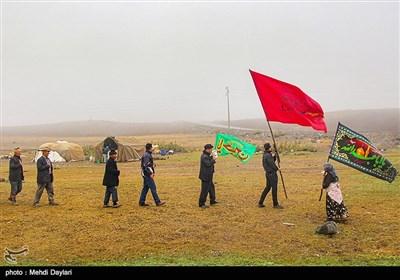 مراسم عزاداری تاسوعای حسینی در ییلاق ارسباران