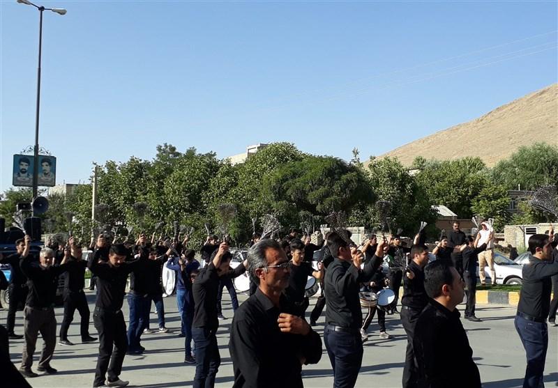 برگزاری مراسم عزاداری تاسوعای حسینی در بزرگترین جزیره خلیج فارس + فیلم