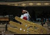 شبیهخوانی شهادت حضرت عباس(ع) در دهزیار کرمان به روایت تصویر