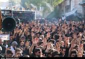 خوزستان| دزفول غرق در ماتم و عزای علمدار کربلا + تصاویر