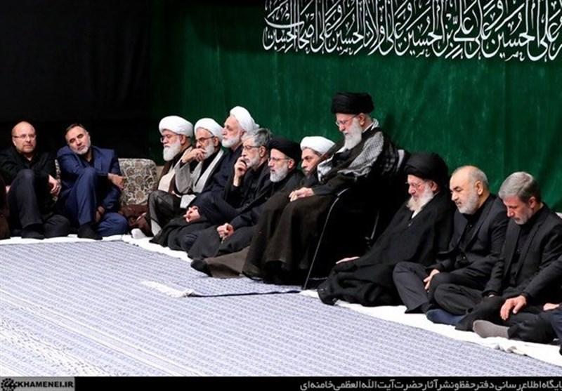 برگزاری مراسم عزاداری شب عاشورای حسینی (ع) در حسینیه امام خمینی