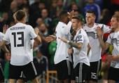 انتخابی یورو 2020| صدرنشینی آلمان با برتری در خانه ایرلند شمالی/ هلند و بلژیک به راحتی پیروز شدند
