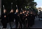 رژه حماسی «شاه حسین گویان» در امامزاده حسن(ع) کرج برگزار شد + فیلم