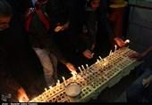 آئین روشن کردن 41 شمع در 41 مسجد تبریز در تاسوعا به روایت تصویر