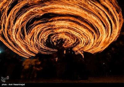 آئین سنتی مشعل گردانی نجفیهای مقیم قم