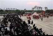 تعزیهخوانی عاشورای حسینی در شهرها و روستاهای استان بوشهر اجرا شد + تصاویر