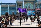 جلوههایی از اجتماع عاشورای حسینی در امامزاده «نرمی» اصفهان