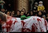 تجدید پیمان مردم حسینی اردبیل با آرمانهای مکتب عاشورا در سومین روز شهادت شهدای کربلا