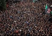 آغاز حرکت دستههای عزاداری پر شور مسلمانان پاکستان به مناسبت فرا رسیدن تاسوعای حسینی