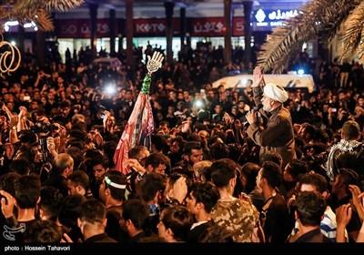مراسم عزاداری شب عاشورای حسینی - کیش