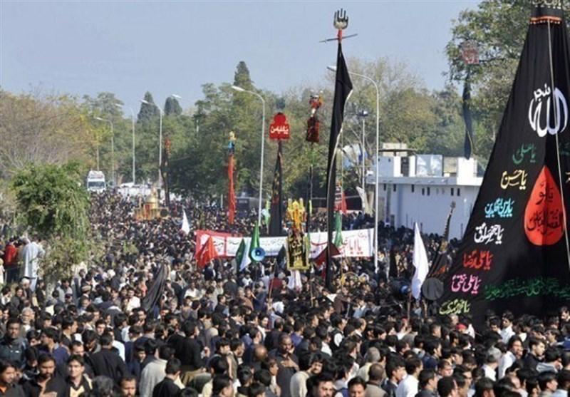 پاکستان میں یوم عاشور کے ماتمی جلوسوں کا پرامن اختتام + تصاویر
