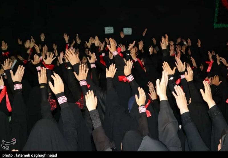 خوزستان| ندای لبیک یا زینب(س) بانوان دزفولی در اجتماع باشکوه بانوان زینبی به روایت تصویر