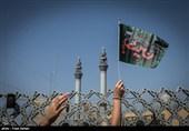 عزاداری عاشورای حسینی در میدان امام حسین (ع)